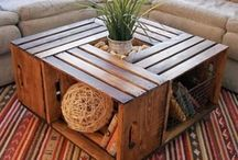 Idées de meubles et déco récup