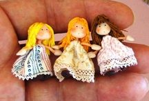 Minature dolls