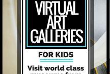 Virtual tours Art Galleries