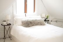 Interiors / bed. / Beautiful bedrooms