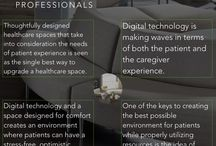 Digital Technology and Healthcare Spaces / Implementing smart design in healthcare spaces is one of the single best ways to guarantee a better patient experience in hospitals, practices and more.