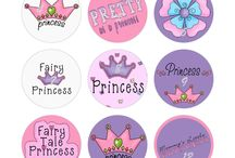 Cupcake print toppers