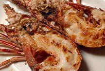 Spiny Lobster & Clawed Lobster / langosta y bogavante