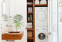 bathroom and laundry combo designs