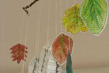 Decoració Tardor / Idees, inspiració, manualitats per decorar l'aula i l'escola a la Tardor i la Castanyada
