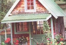Garden Sheds / Garden sheds, studios, guest cottages... / by Rose Marie
