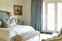 Blue Ceiling Bedroom