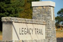 Legacy Trail / The Legacy Trail is a 12-mile paved walk/run/bike path that begins downtown at the Isaac Murphy Memorial Art Garden and winds through horse farms ending at the Kentucky Horse Park. An extraordinary gift to the community has evolved, providing residents and visitors alike the opportunity to exercise, connect with nature and learn more about our unique environment. Learn more at www.mylegacytrail.com.