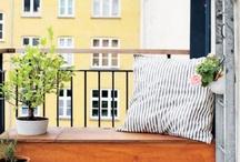 O U T S I D E / Inspiration for balcony