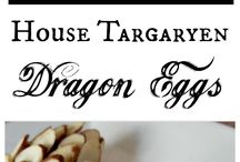 Game of thrones menu / Food ideas for G o T night