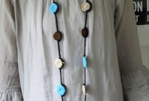crocheted jewelry / by Miho