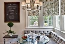 Home: Breakfast Nook / by Sarah Rickard