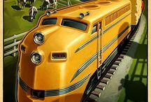 SciFi Rail Transportation