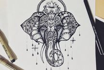Ganesha tattoos