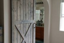 our dream home barn doors