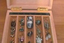 Cigar box jewelry boxes