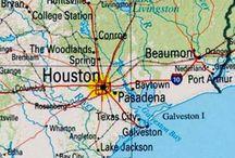 Houston Service Area Map