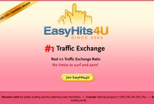 Traffic Exchanges / a board that lists all the traffic exchanges that can be used to generate traffic to your links or sites