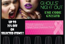 CHINA GLAZE - GHOUL'S NIGHT OUT COLLECTION - Halloween 2015 / Great collection of polish nails