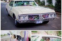 Décoration de voiture des mariés / Des idées de décorations de voiture des mariés