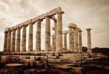 Architectural History of ancient Greece / - Archaic  periode  c. 800 - 400 B.C.          - Classic  (Hellenic)  periode  c. 500 - 300 B.C.      - Hellenistic period c. 360 -146 B.C. / by Walter Machate