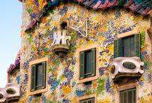 Gaudi,Barcelona
