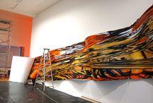 Cinema and Painting Install Wellington 2014