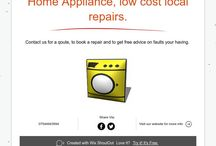 Home appliance app / Download our home appliance app for fixed priced repairs and money off coupons.