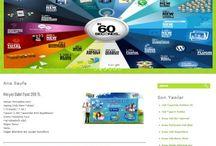 Tamamladığım Web Site Tasarılarım / Web Site Tasarımları