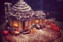 Piparkakkutalot / Gingerbread houses