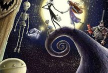 Nightmare before Christmas and Tim Burton / Because i love it and the style