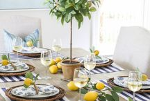 Summer Inspired Tablescapes