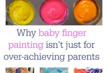 Tuesday Fun Baby Messy Play / Messy play ideas for the babies.