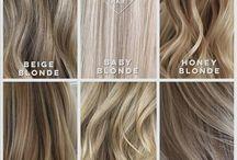 Blonda slingor