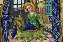 Sainte Marguerite / Iconographie