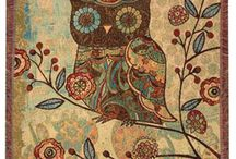 my textile owl...inspiration for...