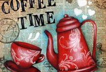 Coffee dekupaj
