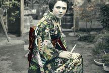 pre-1950s 和服