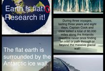 flat earth research