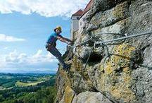 Klettersteigen