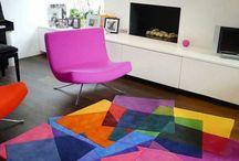Atelier de l'habitat : Tapis colorés