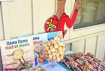 Llama Llama Red Pajama Party Ideas / All kinds of fun ideas for a Llama Llama party!