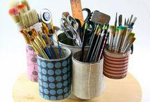 Ceramic studio / For tools  / by Jessie DeCaro