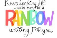Somewhere Over the Rainbow................. / by Cheryl Paul