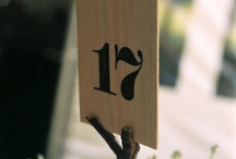 Wedding: table markers / by Kate Cardinali