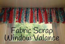Fabric scrap ideas....