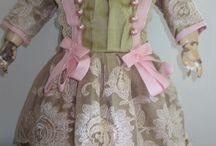 cloth for antique doll / cloth for antique doll