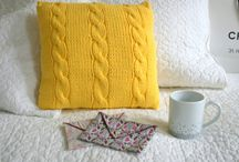 coussin tricot tuto