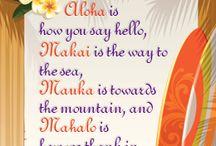 Aloha: Words
