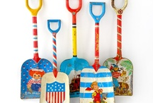 Vintage Treasures / A collection of vintage toys, dresses, kitchen goods and more.